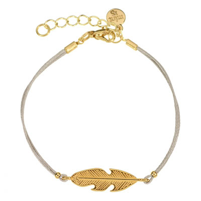 """Bracelet """"Feather"""" in silber od rosegold ( out of stock) 14€"""