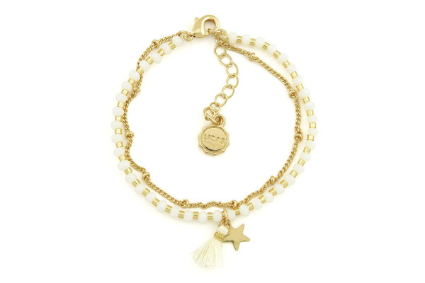 "Armband ""Golden Star"", 19€"