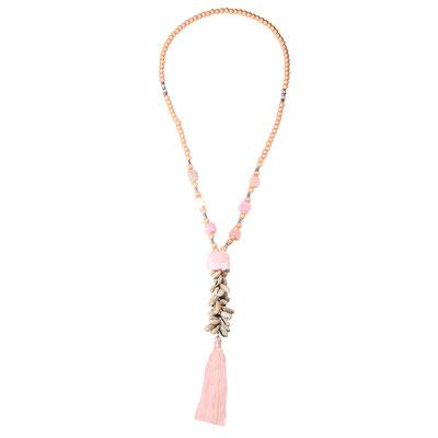 """Kette """"Aloha"""" soft pink, 28€"""