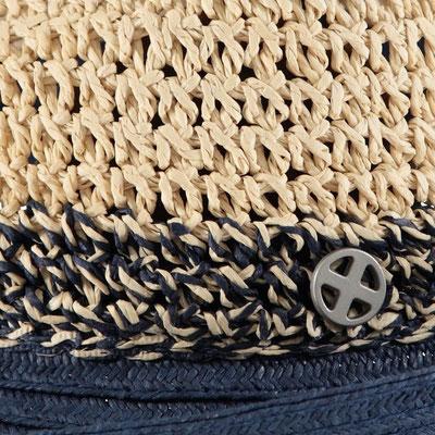 """Hut """" Ibizagirl"""", navyblue,  100% Paper, mit Hutband größenverstellbar,   34,95"""