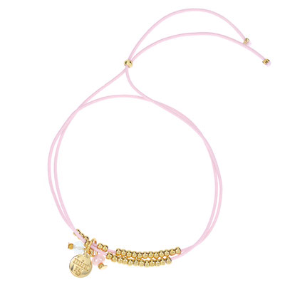 """Armband """"Collect the stars"""" soft pink in silber od rosegold 14€"""