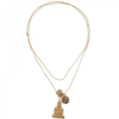 "Kette ""Buddha"" gold 20€"