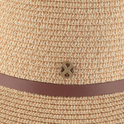 """Hut """"Brighton Beach"""", natural, 100% Paper, Gr 57cm mit Band grössenverstellbar, 29,95€"""