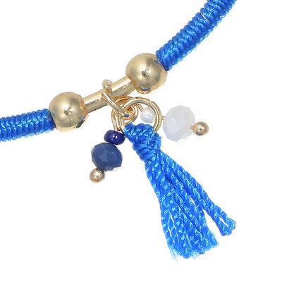 "Armreifen "" Fall"" blue 19€"