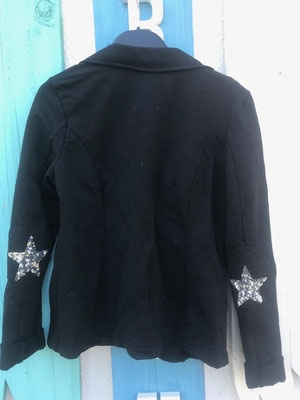 "Sweatsakko ""Star"", black, in GR S/XL, 49,90€"