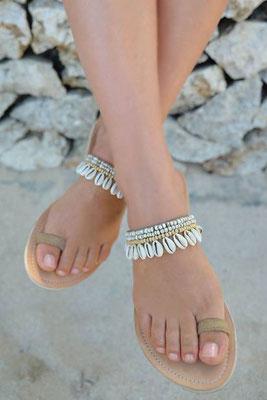 "Sandals ""Koniki"", beige, in Gr 38   89€"