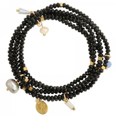 Bracelet Glamour black 25€