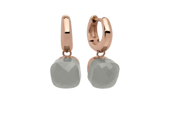 Ohrringe, rose , grey opal  59,90€