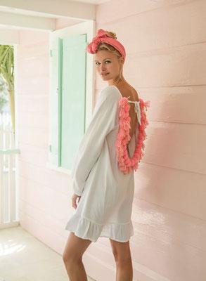 Dress Cannelle erhältlich in nude/white in Size XS/S und M/L   139€