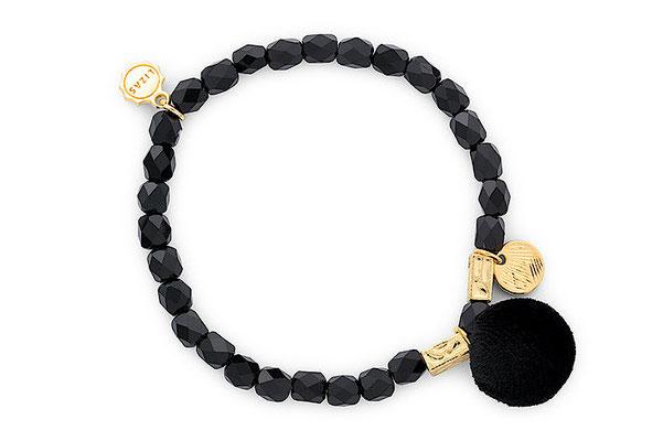 """Armband """" Kugel"""" black 18€"""
