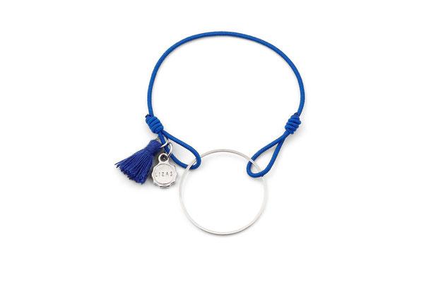 "Armband ""Blue Circle"", 12€"