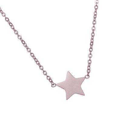"""Kette """"Star"""" rosegold 19€"""