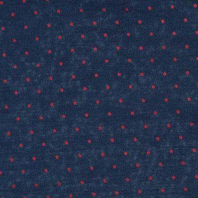 """Schal """"Star"""" marine, 100% Cotton, 70x180cm 34,95€"""