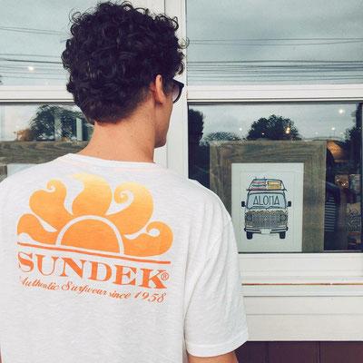 Sundek Shirt Herbert in weiß (S/M/L/XL/XXL) oder navyblue, Gr M/XL 45€