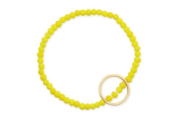 "Armband ""Circle"" yellow, 18€"