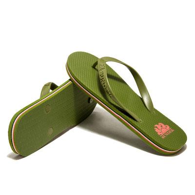 """Flip Flop Barracuda """"Army Green"""" in Gr 40/42/44/46"""