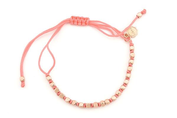 "Armband ""Coastline"", coral, 14€"