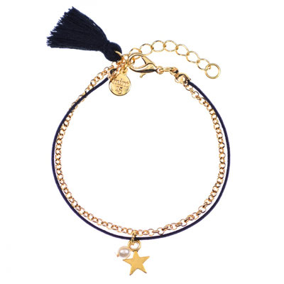 """Armband """"Pearl&Star"""" in gold 14€"""