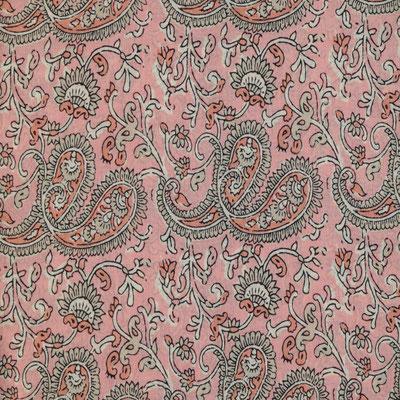 "Schal ""Pink Paisley"",soft pink, 100% Cotton, 24,95€"