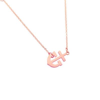 """Kette """"Sailor"""" rose gold, 19€"""