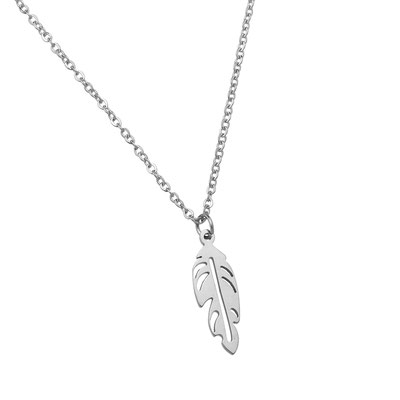 "Kette ""Happy Feather"" silber 19€"