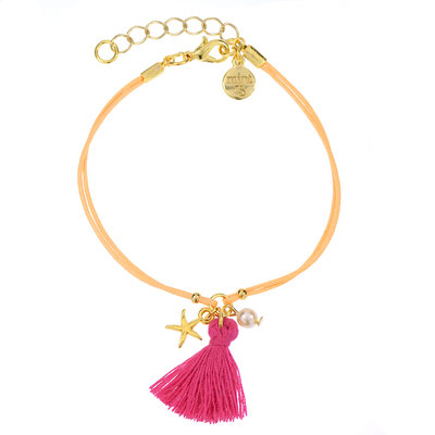 "Armband ""Summer Tassel"" in silber od gold 14€"