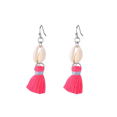 """Ohrringe """"Island Queen"""" pink 14€"""
