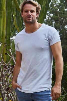Isla Ibiza T-Shirt 100% Cotton, skyblue, in Gr  S/L/XL