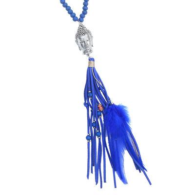 """Kette """"Big Buddha"""" blue 28€"""