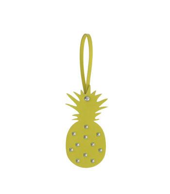 "Anhänger ""Pinapple"", yellow, 8x0,4x15,5cm, 9,95€  now 6€"