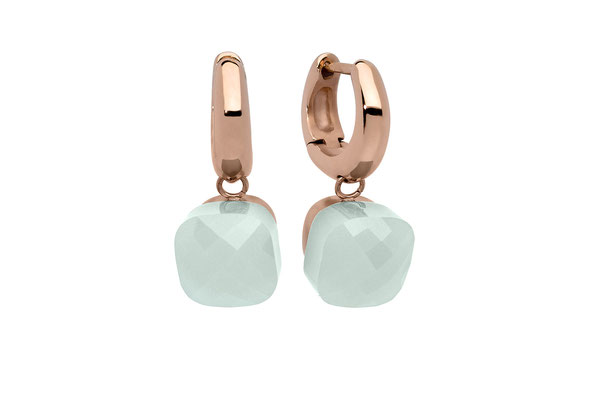 Ohrringe, rose , chrysolite opal,   59,90€