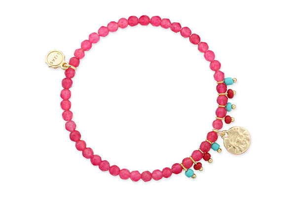 """Armband """"Holy Cow"""" pink/gold 16€"""