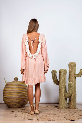 Dress Cannelle  nude/white in Size XS/S und M/L   139€