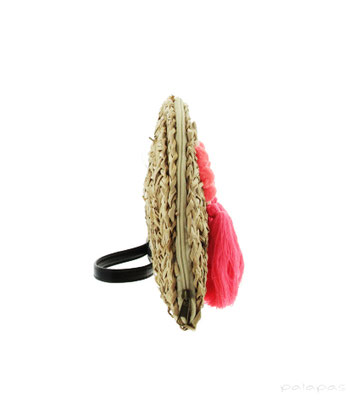 "Clutch ""Miss Gomera"", 100% Seagrass, 31x20cm,   39,95€"