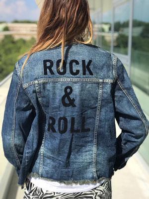 """Jeansjacke """"Rock&Roll"""", Gr S/M/L  69,90€"""