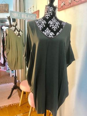 "Tunika ""Rebeca Mute"", one size, khaki 54,90€ minus 30%"