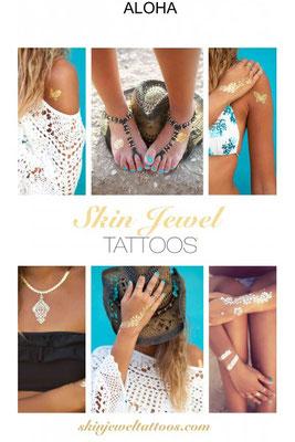 Skin Jewels Tatoos Set Aloha 29€