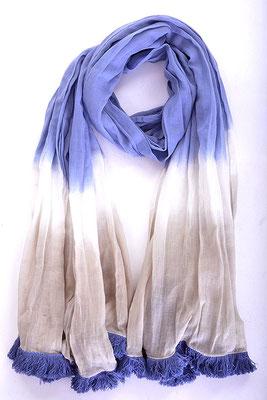 Schal Batik blue/grey 27€