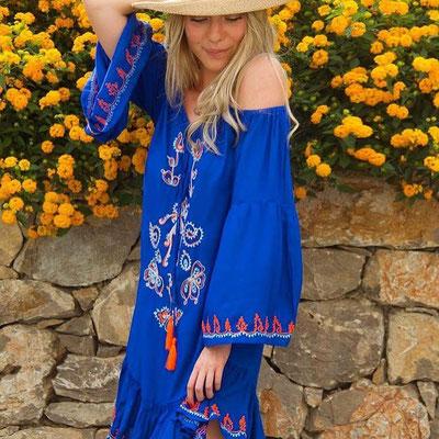 Dress Mohana blue 89€