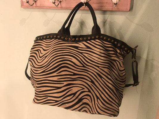 "Lederbag ""Zebra"", 79€"