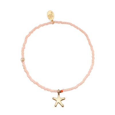 "Armband ""little Seastar"" soft pink 12€"