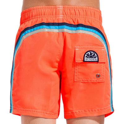 "Sundek Boys Short ""Fluo Orange""  Gr 4/6/8/10   75€"