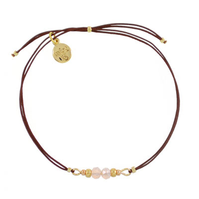 """Armband """"Dragonfly"""" light rose, in rosegold und silber, 14€"""