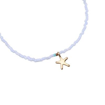 "Armband ""little Seastar"" blue 12€"