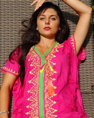 Dress Ethnique Pink 75€