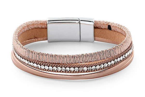"""Armband """"Ladies Lunch"""", rose/softpink, 19€"""