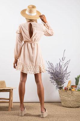 Dress Ines, poudre, 100% Baumwolle, in Gr XS/S und M/L,  149€