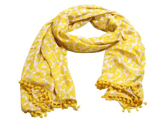Schal gelb 19,95€