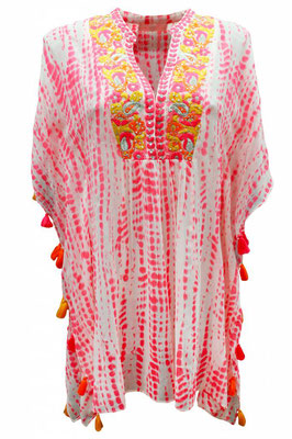 Kaftan Anita available in pink one size 159€ on SALE -30%