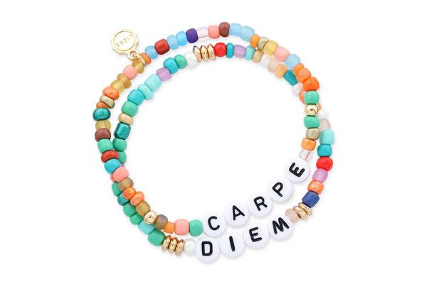 """Armband """"Carpe Diem"""", 19€"""